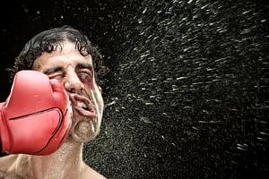 Tal der Tränen, boxer, Eine Faust aufs Gesicht, K.O., KO