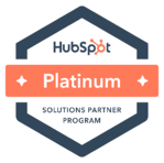 HubSpot Platinum Partner Badge